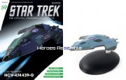 Star Trek Official Starships Collection #059 USS Relativity Eaglemoss